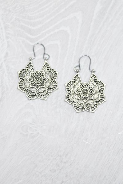 Henna Style Earrings - little-lies-uk