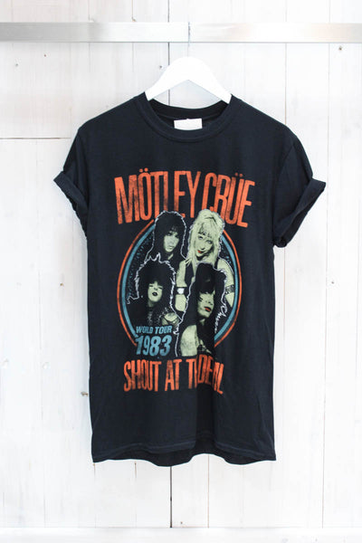 Motley Crue '83 Tee - little-lies-uk