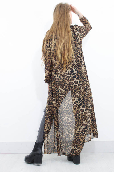 Wild Nights Maxi Kimono - little-lies-uk