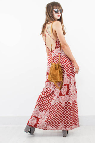Kashmir Backless Maxi Dress - little-lies-uk