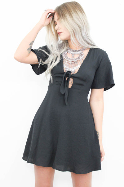 Nightrain Skater Dress - little-lies-uk