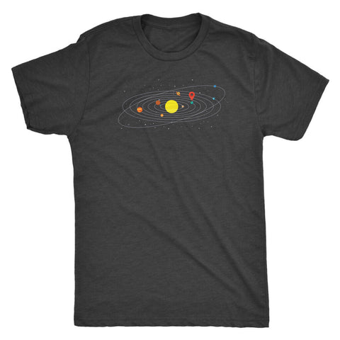 Image of You Are Here - Dark Shirt