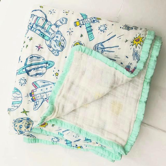 Four Layer Space Cotton Blanket