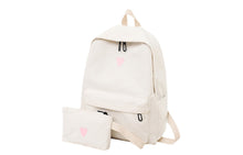 HEART BACKPACK SET