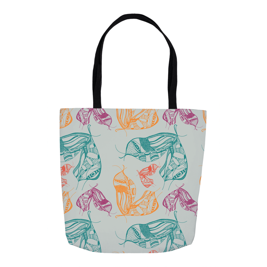 Tote in Moth Wing (Mint Equinox)