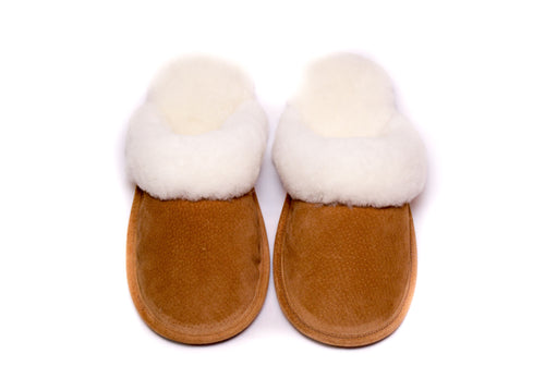 Mens Open Back Slipper