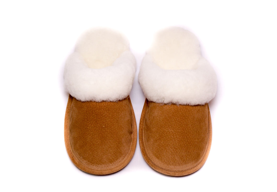 Ladies Open Back Slipper