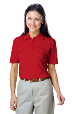 BG6300 Ladies' Value Wicking S/S Polo From S / XL