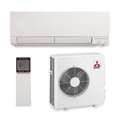 Mitsubishi MZ-FH18NA - 18,000 BTU 21 SEER Hyper Heat Wall Mount Ductless Mini Split Air Conditioner Heat Pump 208-230V