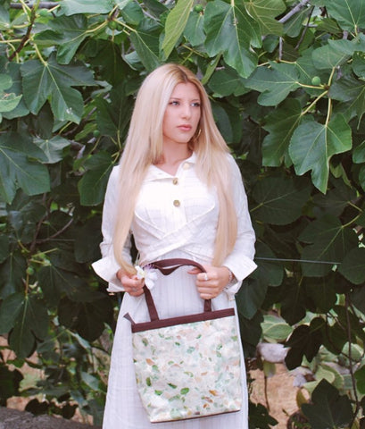 Fashion Blogger - Natural Handmade women Handbag tote Avani