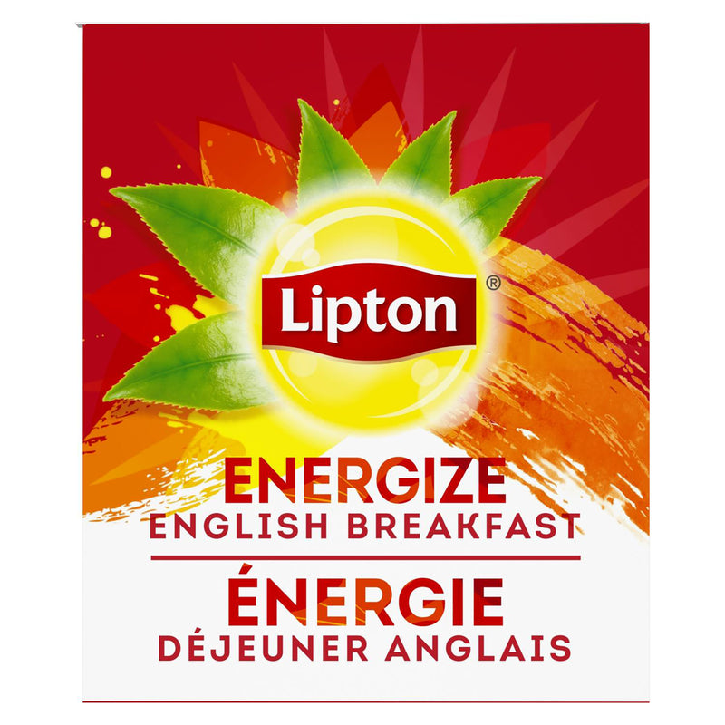 Lipton Hot Tea Bags English Breakfast 28 Count, Pack of 6