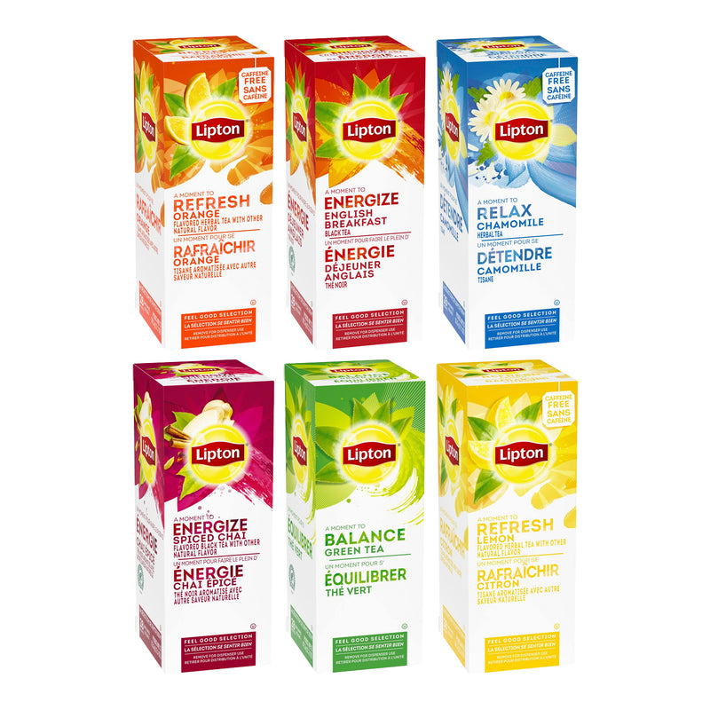 TEMPORARILY OUT OF STOCK Lipton Assorted Variety Pack