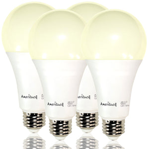 150W Equivalent Super Bright A21 LED Bulbs - 4 Pack
