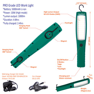 AmeriLuck Rechargeable LED Work Light