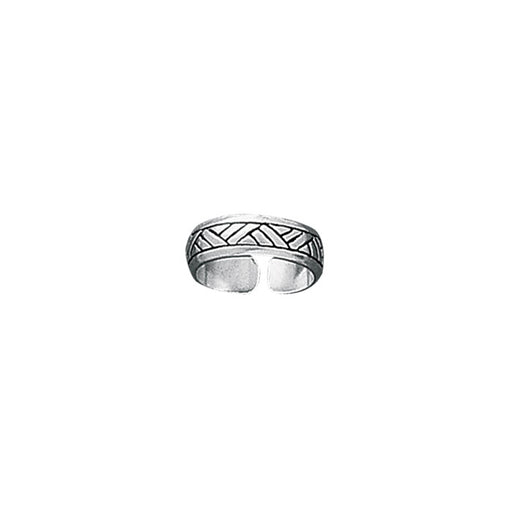Toe Ring: Sterling Silver
