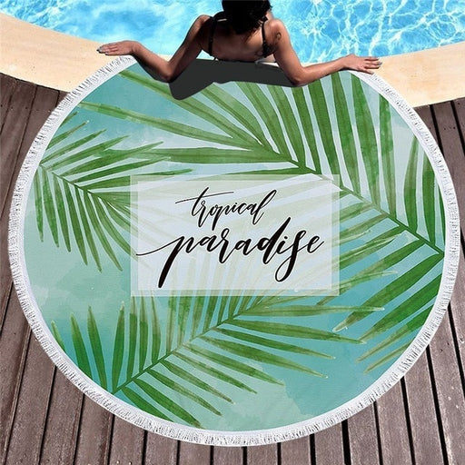 Towel: Tropical Paradise