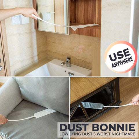 Duster for narrow spaces