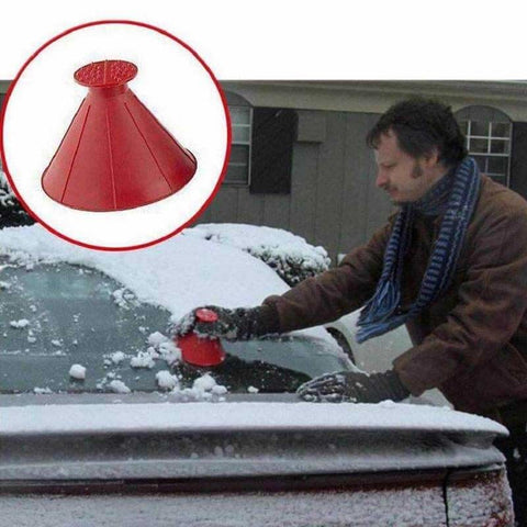 This deicing cone is a must-have tool for anyone used to living in colder areas of the world, as well as those who only experience it on occasion!