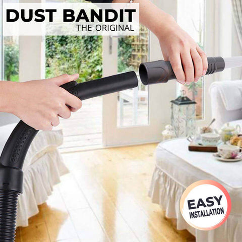 Zap the dust you couldn't reach before. The Dust Bandit is ideal for drawers, vents, window blinds, keyboards, furniture, cars and so much more