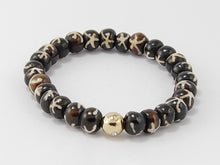 Load image into Gallery viewer, Bone Beads- Lucky Bead- Two tone