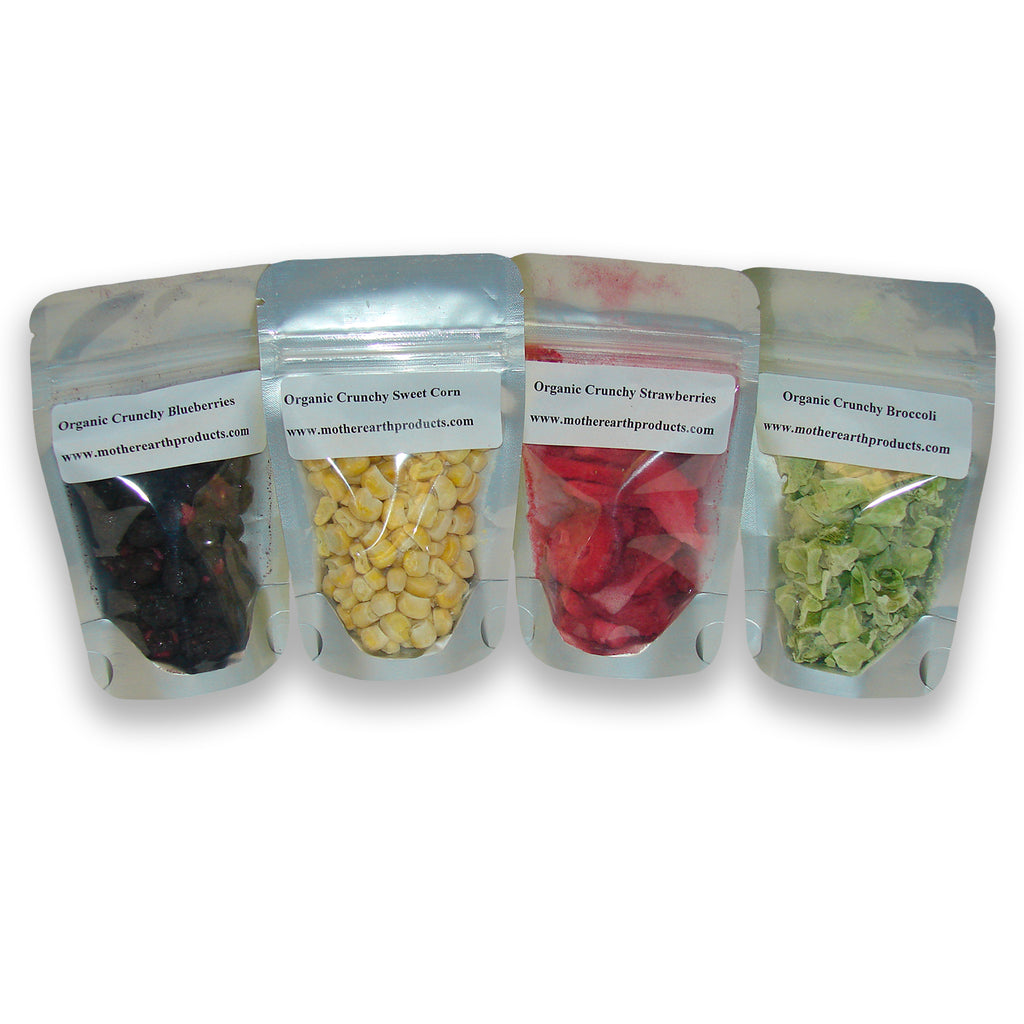 Organic Freeze Dried Variety Sample Pack