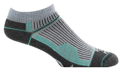 Farm 2 Feet Womens 9742 Merino Wool No Show Running Socks
