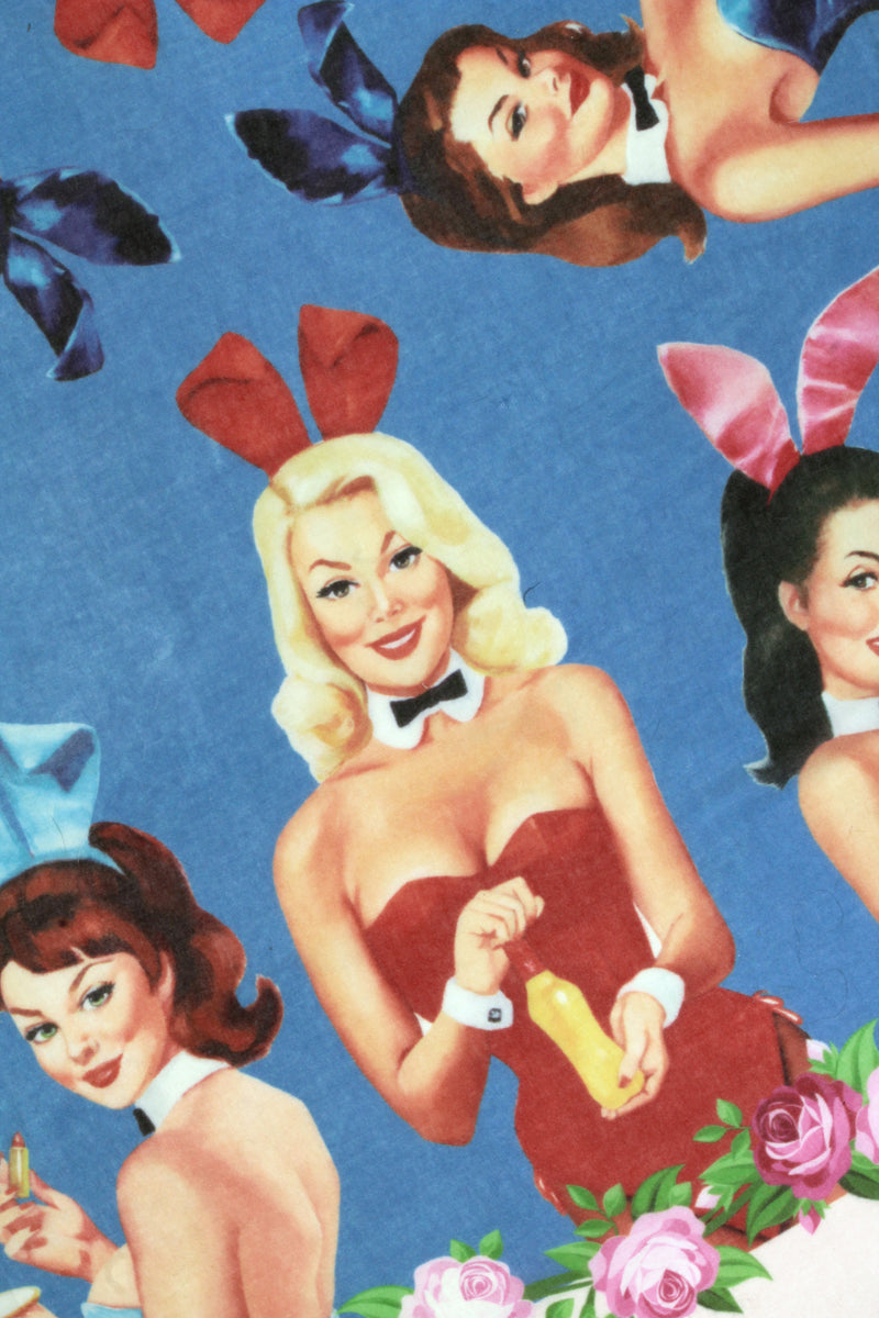 Playboy Cashmere and Silk Bunny Scarf