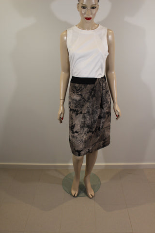 Target Limited Edition Brown Grey & Black Skirt Sz 10 NWT