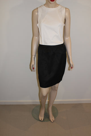 Tokito Cotton Blend Black Mini Skirt Sz 12