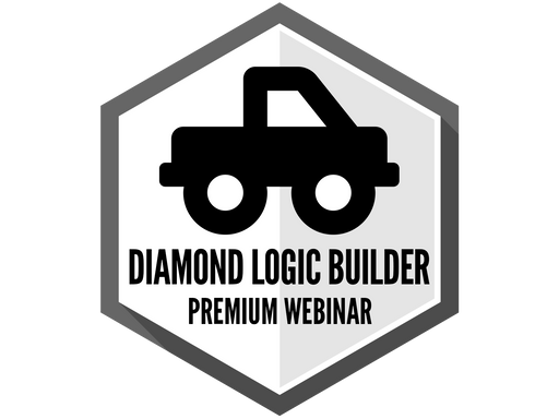 International Diamond Logic Builder - Premium Webinar