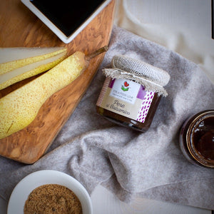 Pear in Balsamic Vinegar Compote - EMILIA FOOD LOVE