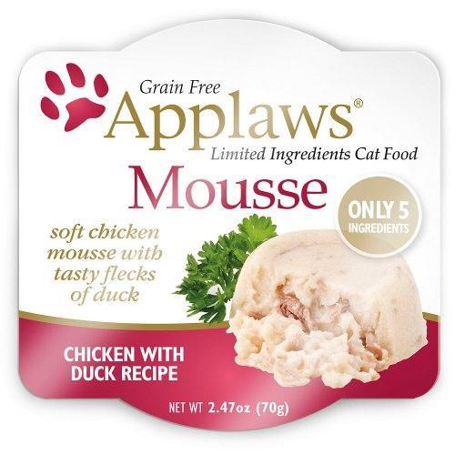 Applaws Mousse Chicken Duck 2.47oz