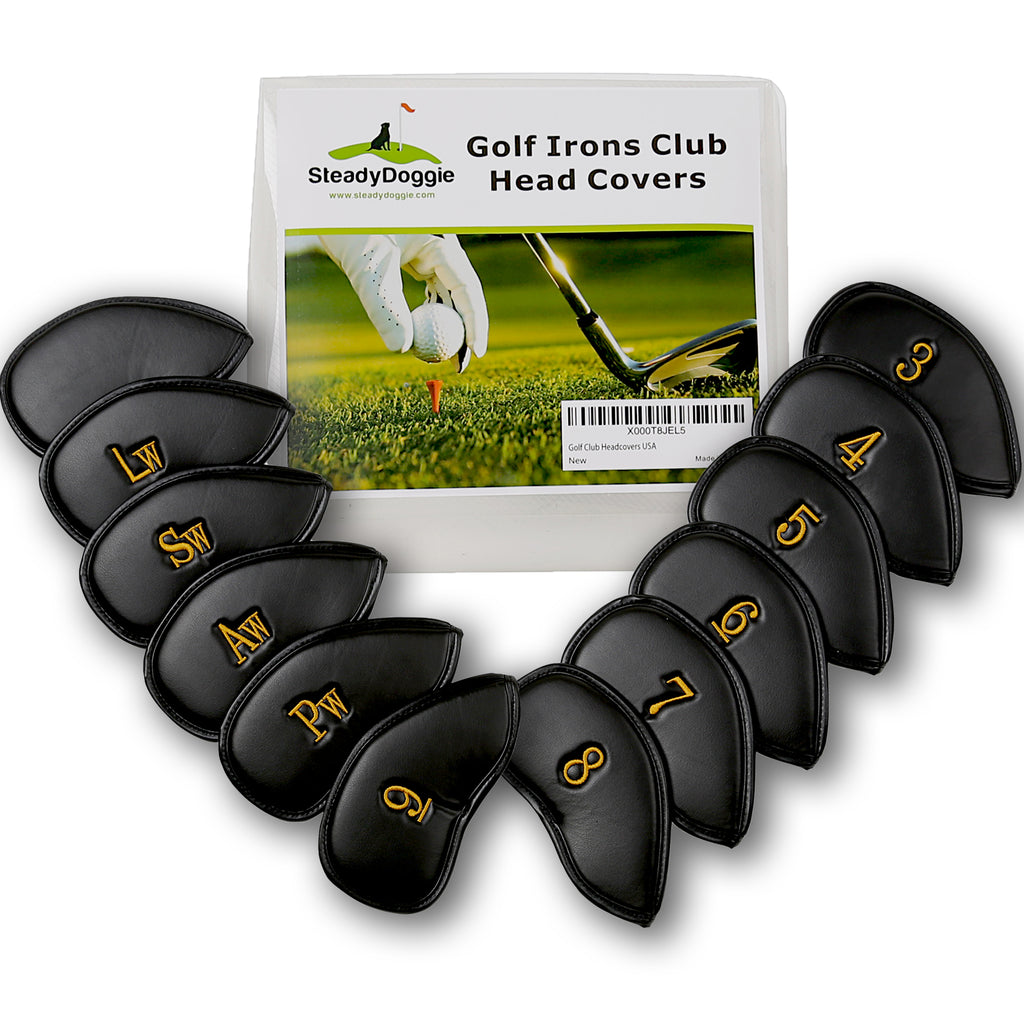 Golf Club Headcovers Set of 12pc