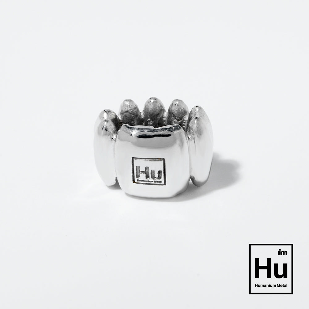 Broad bubble link | Humanium Metal | Charm