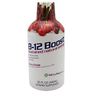 High Performance Fitness B-12 Boost Cherry Charge - Cherry Charge / 16 oz - Liquid Shot