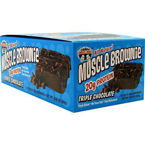 Lenny & Larrys Muscle Brownies Triple Chocolate - Triple Chocolate / 12 ea - Bars