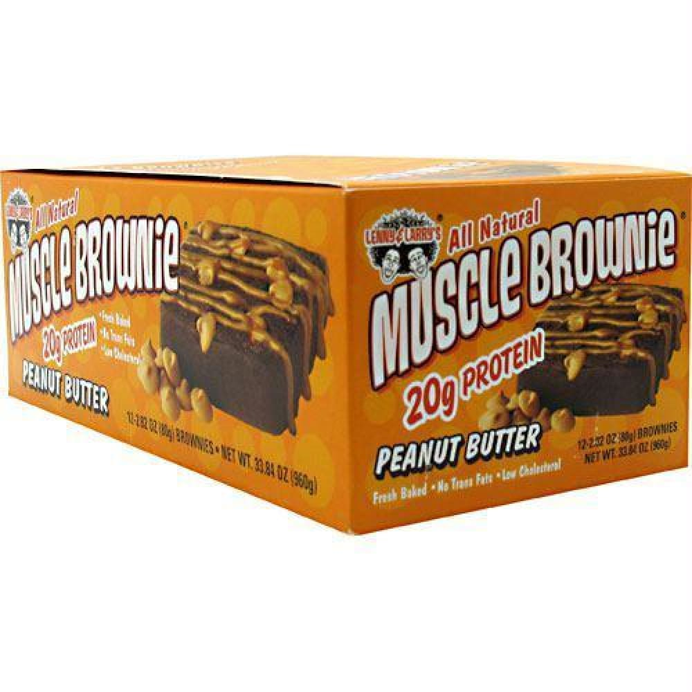 Lenny & Larrys The Muscle Brownies Peanut Butter - Peanut Butter / 12 ea - Bars