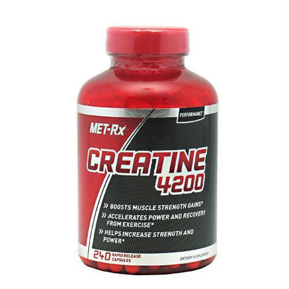 Met-Rx USA Performance Creatine 4200 - 240 ea - Supplements