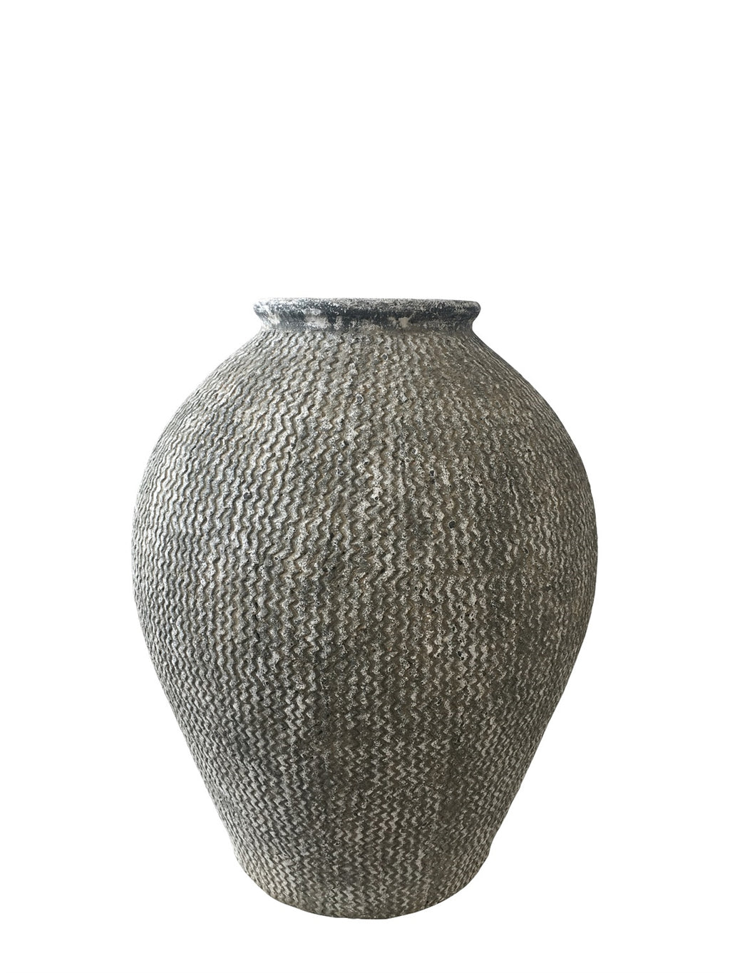 Lg. Ceramic Tall Terracotta Urn - AboutRuby.com