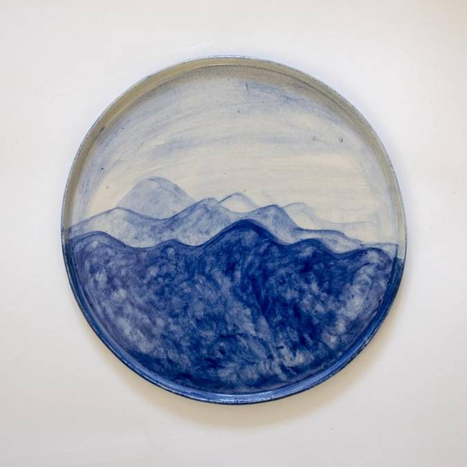 Ocean Waves Platter - AboutRuby.com