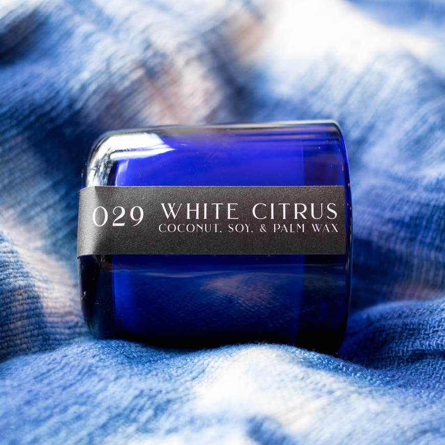 029 White Citrus Candle - AboutRuby.com