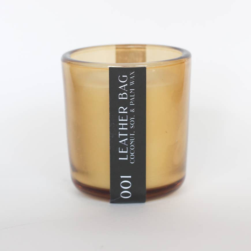 001 Leather Bag Candle - AboutRuby.com