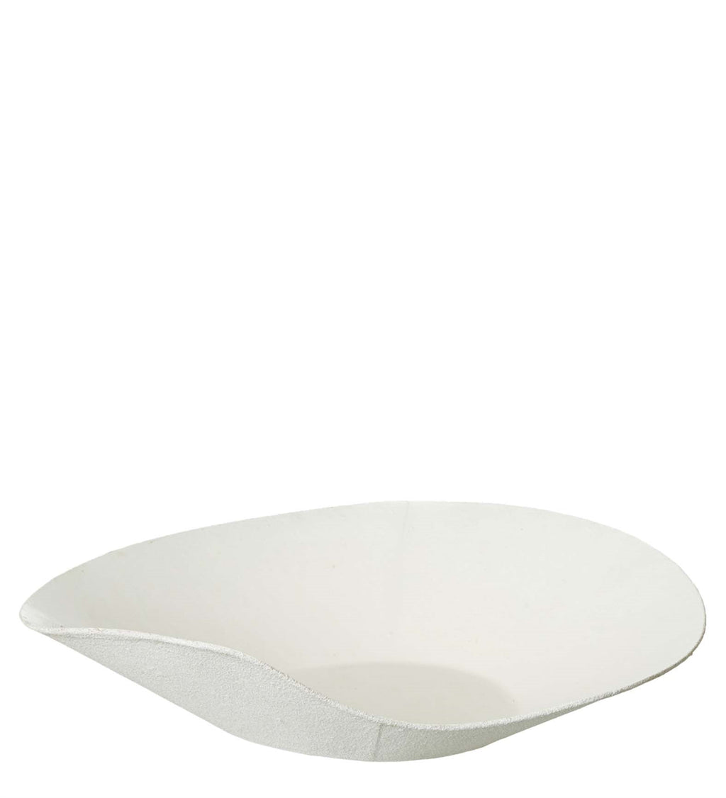 Paper & Latex Bowl in White - AboutRuby.com