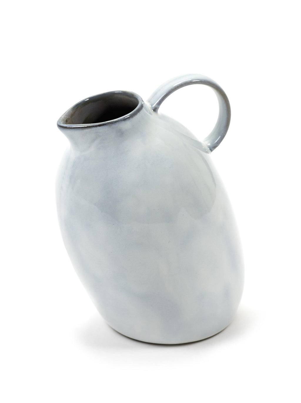 Small Stoneware Carafe in White - AboutRuby.com
