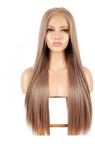 SYN Collection | Synthetic Hair Lace Unit | Blonde Straight 22""