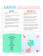 Load image into Gallery viewer, Earth Balancers STEAM Activity Lesson Plan