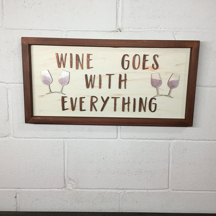 Wine Theme Signs