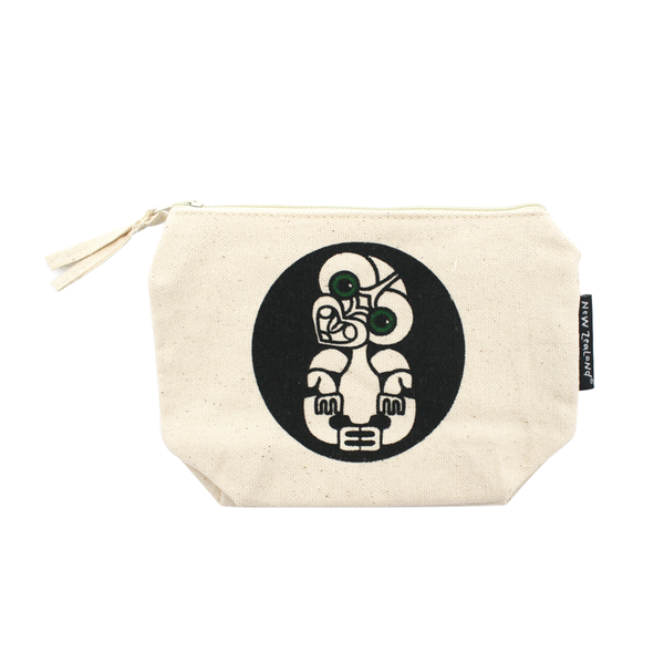 New Zealand Makeup Bag Tiki