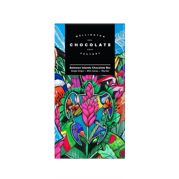 Wellington Chocolate Factory Solomon Islands 75g