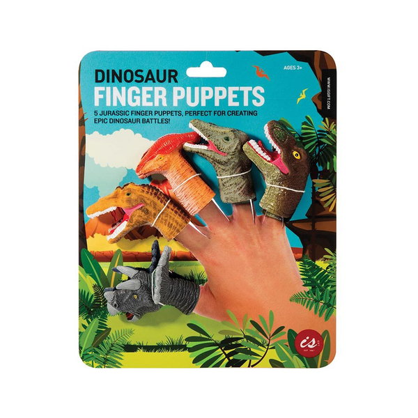Dinosaur Finger Puppets Set of 5